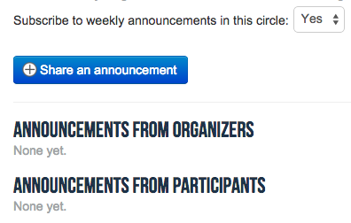 How to create a member-generated email newsletter for a circle on QiqoChat.